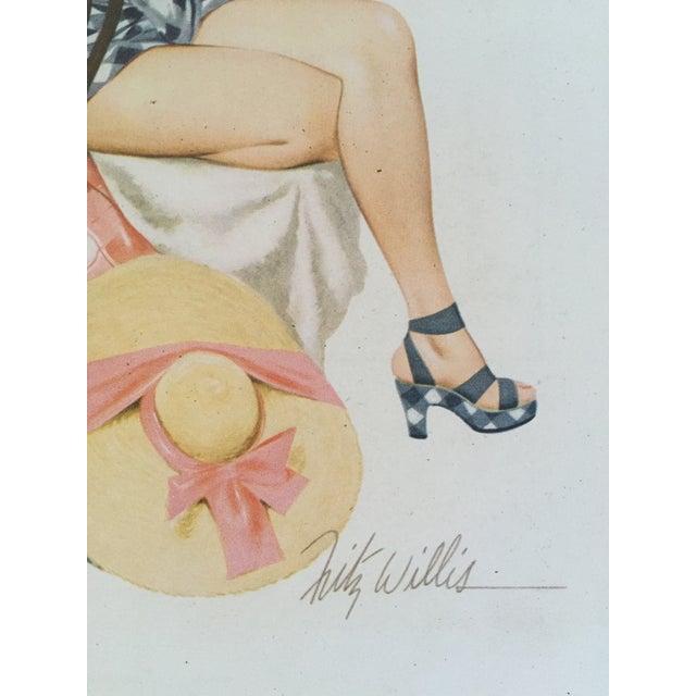 Image of 1948 Original Fritz Williams Pin Up Girl