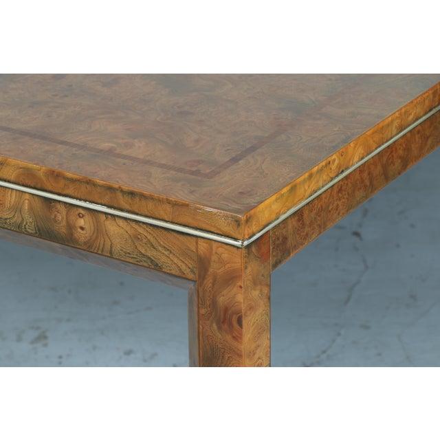 Master Burlwood Dining Table - Image 6 of 11