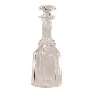 Elegant Georgian Style Crystal Decanter from England c.1850.