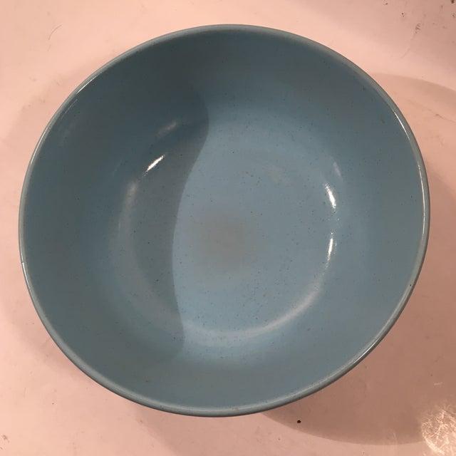 Frankoma Westwind Blue Serving Bowl - Image 4 of 6