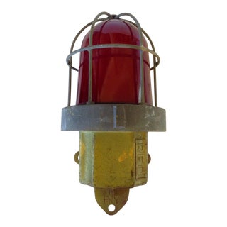 Red Ships Lamp
