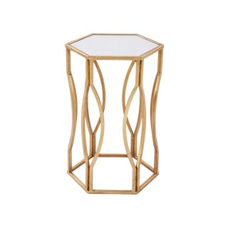 Fremont Gold Side Table