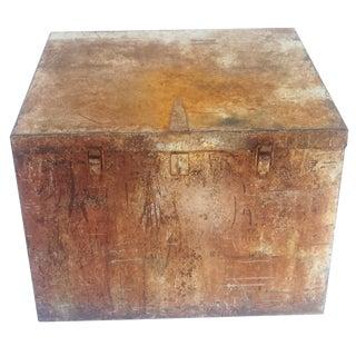 Large Vintage Industrial Metal Box