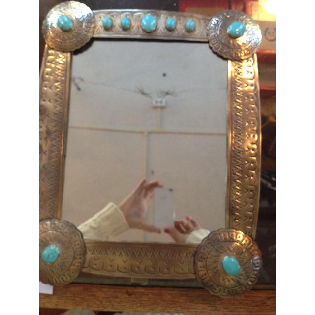 Stamped Vanity Mirror - Image 3 of 7