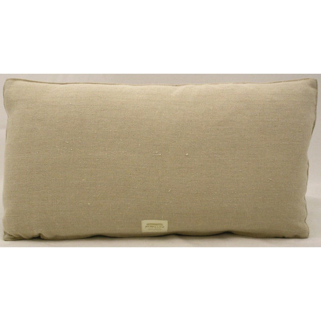 Mid-Century Abstract Bolster Pillow - Image 3 of 3