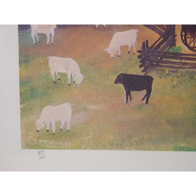 Will Moses Quilting Social Signed Serigraph - Image 3 of 4