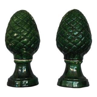 Pair of Pinecone Decorations