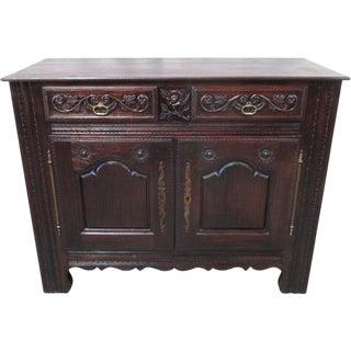 French Antique Carved Sideboard Server