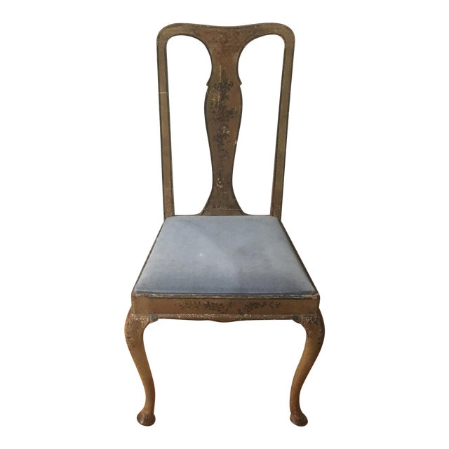 Antique Continental Side Chair - Image 1 of 9