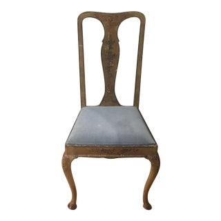 Antique Continental Side Chair