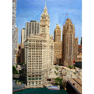 """Chicago's Splendor"" Giclee Print of the Painting"