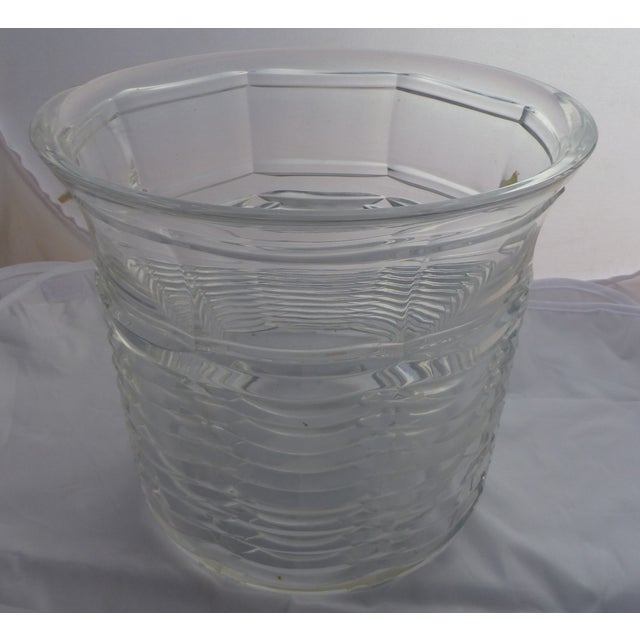 Image of Mid-Century Modern Crystal Champagne Chiller