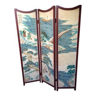 Chinese Motif Room Divider