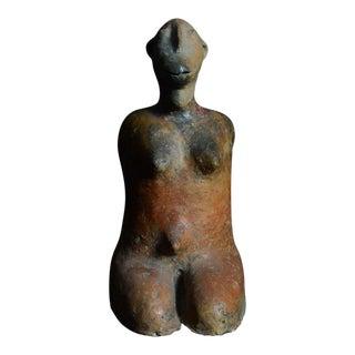Tenenku Terracotta Sculpture of a Female Captive