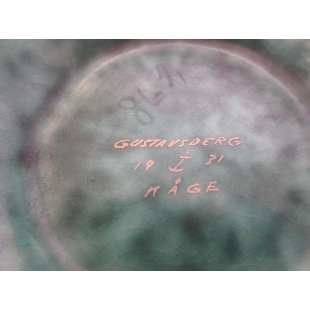 Argenta Vase Signed by Wilhelm Kage for Gustavsberg, Sweden - Image 3 of 3