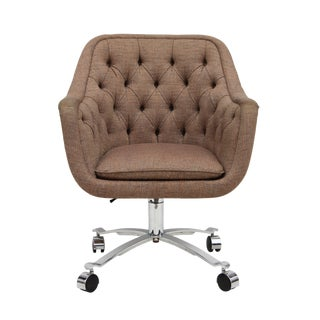 Tufted Task Chair by Ward Bennett for Brickel