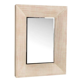 Wood Olivia Wall Mirror