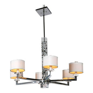 Mother of Pearl Micro Mosaic Decorated Chandelier