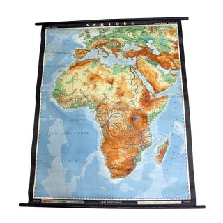 French Map of Africa