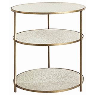 Round 3-Tiered Percy Side Tables - a Pair