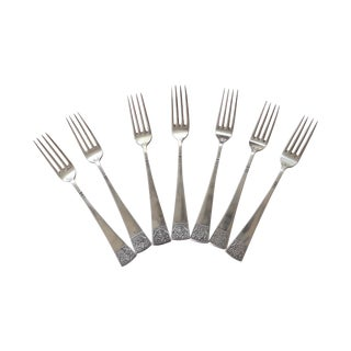 European Oversize Dinner Forks - Set of 8