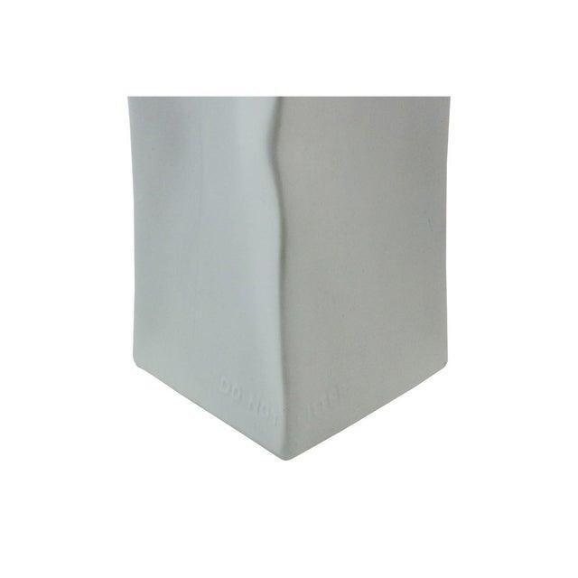 Rosenthal Studio Line Porcelain Milk Carton Vase - Image 5 of 6