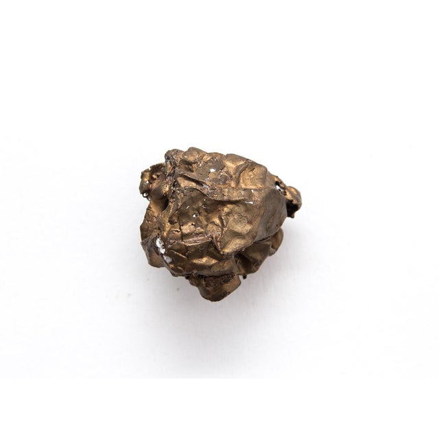 Clif Claycomb Bronze Crumpled Paper Sculpture - Image 2 of 3