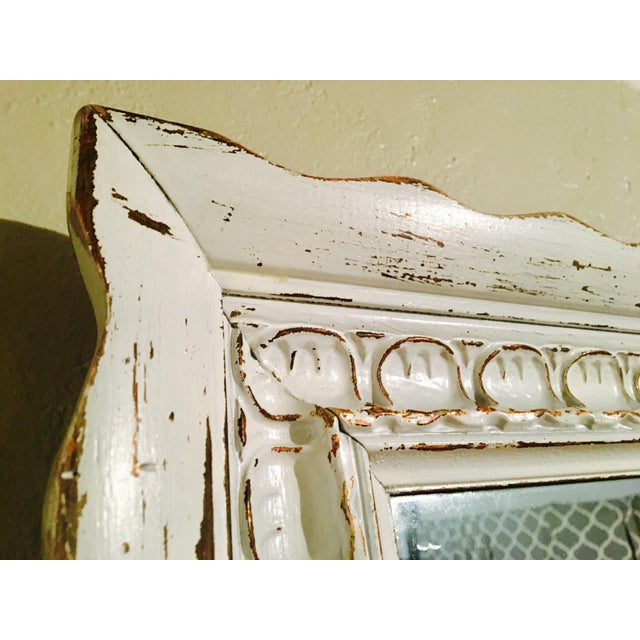 Vintage Bassett Shabby Chic Mirror - Image 4 of 7