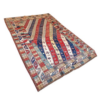 ABC Carpet Aztec Wool Rug - 6′ × 8′
