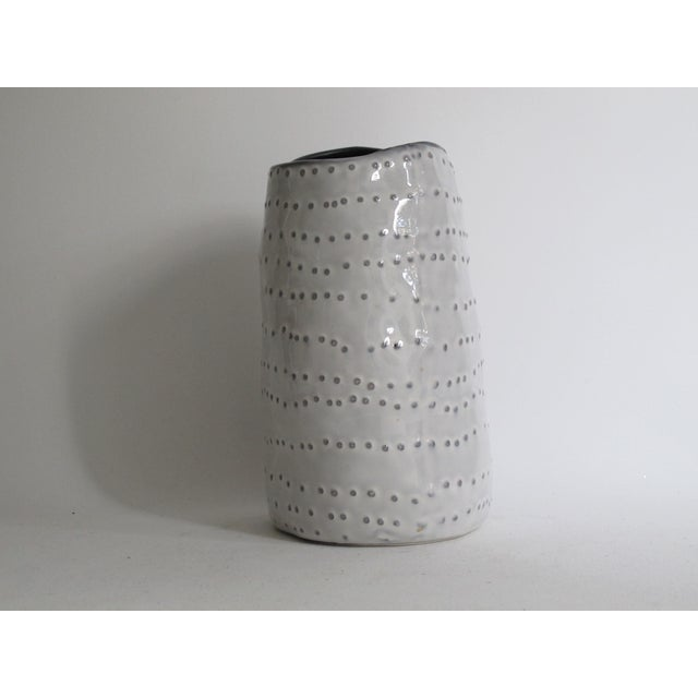 Image of Asymmetrical Spotted Vase