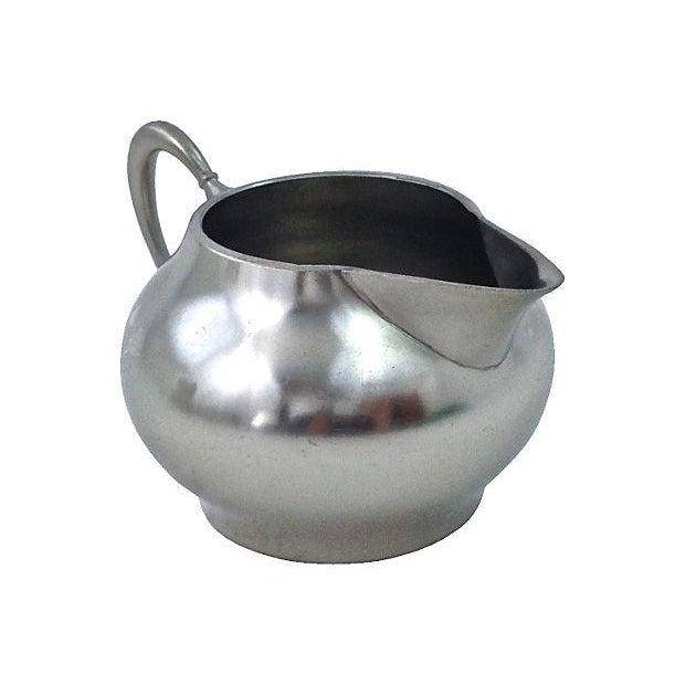 Pewter Teapot Sugar And Creamer - Set of 3 - Image 5 of 7