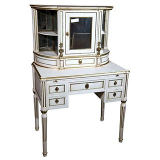 Maison Jansen French Louis XIV Painted Vanity