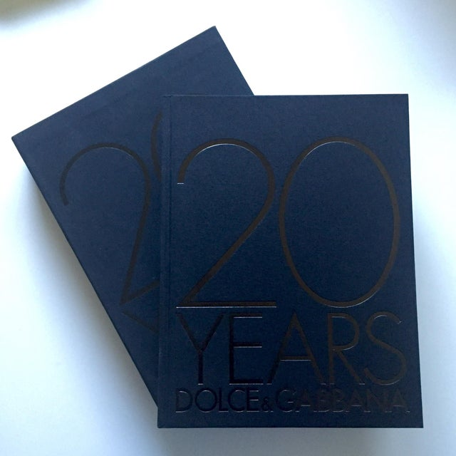 Image of Dolce & Gabbana 20 Years Coffee Table Book