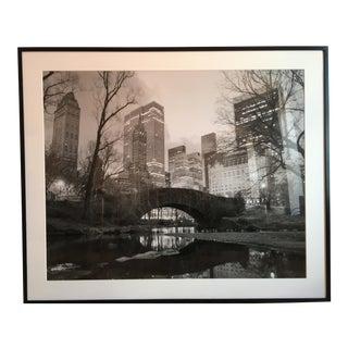 Giant Framed Statement Black & White Photograph