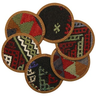 Kilim Coasters Set of 6 - Çavuşçu
