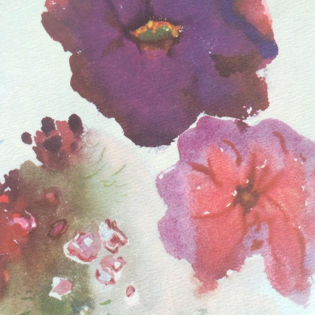 Art Print by Ian Woodner Anemones, Laurel & Fern - Image 5 of 8