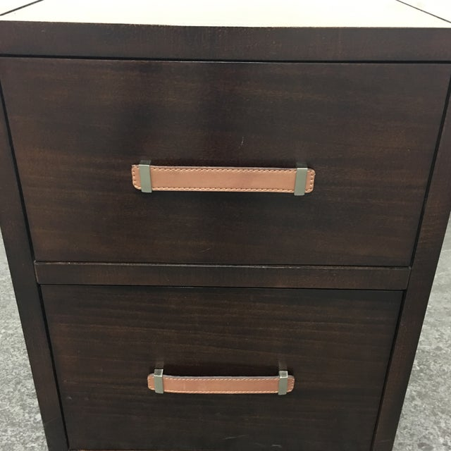 Hickory Chair Furniture Company Harrison 2 Drawer File Cabinet - Image 7 of 9