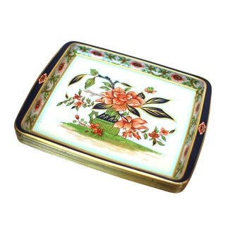 English Floral Tin Trays - Set of 8