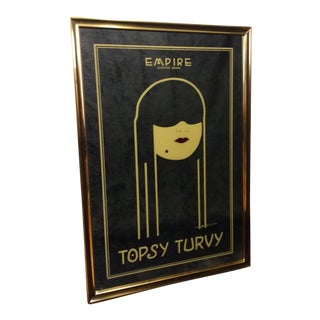 Topsy Turvy Framed Mirror Victor Hicks