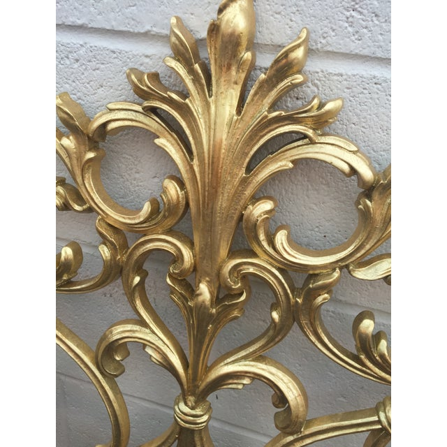 Twin Gold Head Boards & Frames - 4 Pieces - Image 4 of 6