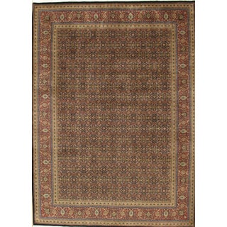 Pasargad Tabriz Lamb's Wool Area Rug- 12′2″ × 15′3″