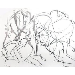 Polo I Drawing Framed by Heidi Lanino