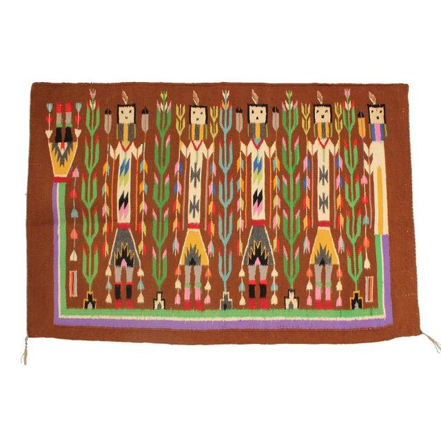 Yei People Woven Tapestry Chairish
