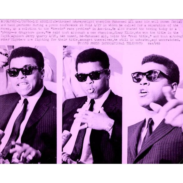 Image of Muhammad Ali Pop Art Piece