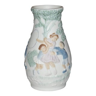 Lladro Bisque-Porcelain Mini Vase