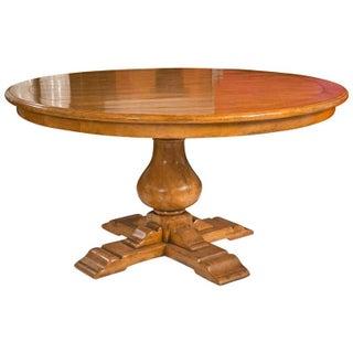 Elm Pedestal Dining Table