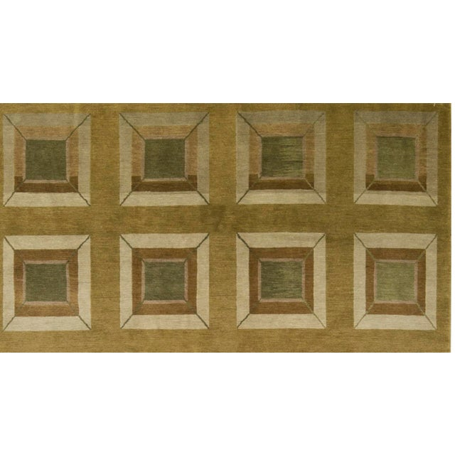 Contemporary Hand Woven Rug - 6' x 9' - Image 2 of 3