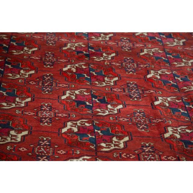 "Antique Tekke Bokhara Carpet - 6'11"" X 10' - Image 5 of 10"