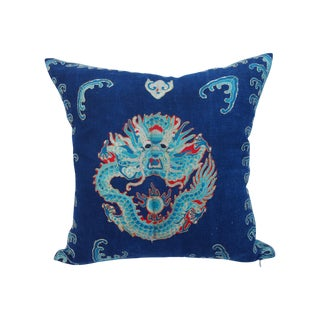 Embroidered Dragon Opera Robe Pillow