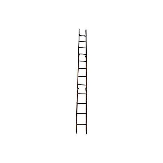 Vintage Tri-Fold 15 Ft Ladder - Image 2 of 4